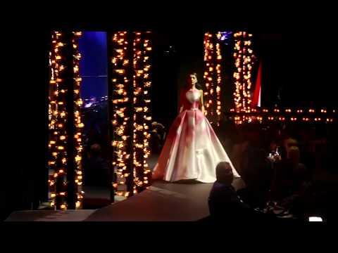 Maryna Hryno Miriflowers(Elie Saab show in Dubai Opera)