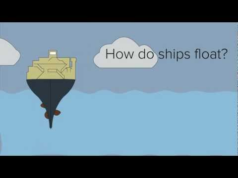 How do ships float? Buoyancy!
