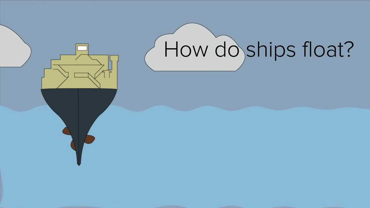 How Do Ships Float Buoyancy YouTube - How do cruise ships float