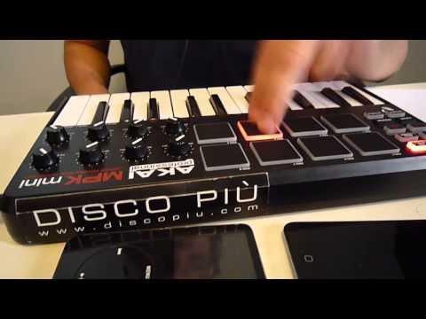 #11 Music Production  AKAI MPK mini + Ableton  8