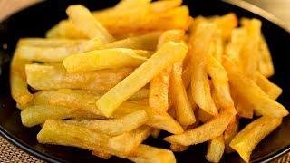 Картошка фри - такая же хрустящая и вкусная как в ресторане фастфуда! | Appetitno.TV