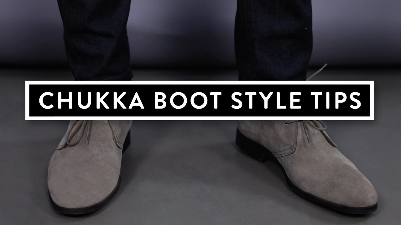 437eaa2f8 Combat Gent Presents Dress Smarter: How To Wear Chukka Boots - YouTube