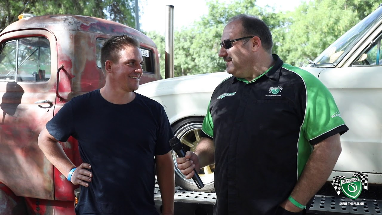 Summernats 32 - Shannons Chat with Jay in his Retro Mod Custom International COE - Day 1