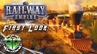 Railway Empire Gameplay : Railroad Tycoon Simulator! (PC Early Access)