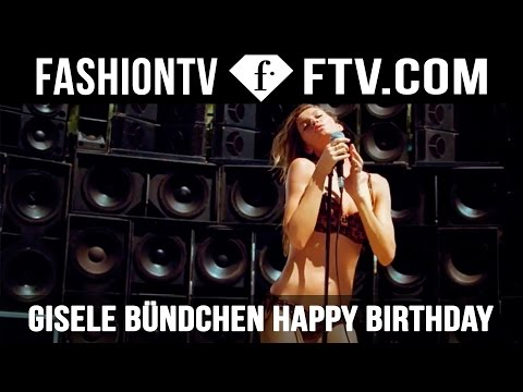 Gisele Bundchen Happy Birthday - 20th July | FTV.com