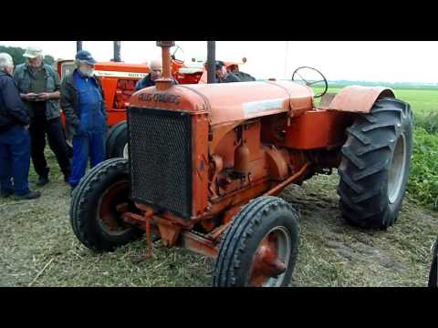 Allis-Chalmers A running at Allis-Chalmers event Beemster 2015