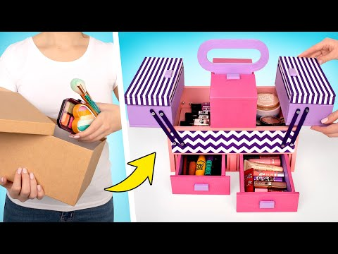 fit-all-your-makeup-in-this-cardboard-organizer!