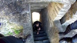 Прогулка по Копорской крепости На мотоцикле Honda SB750 путешествия на  мото