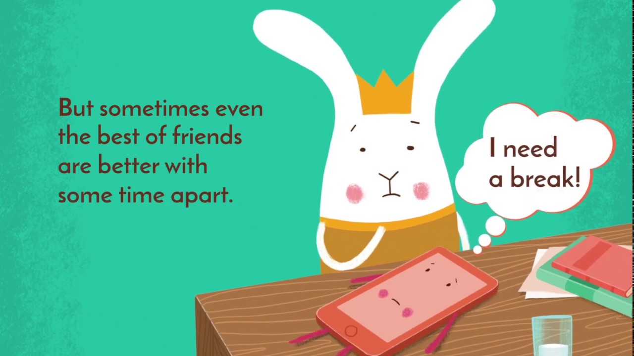 Babbit and Joan, a Rabbit and a Phone (Children's Book Trailer)