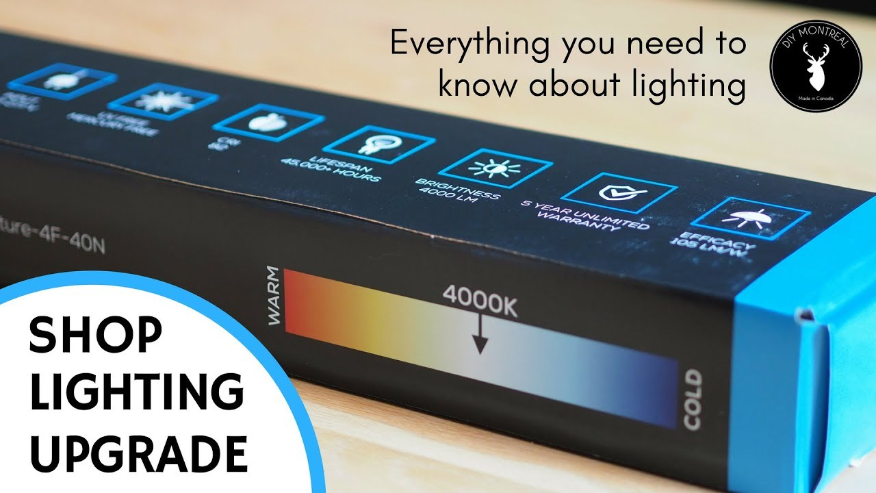 workshop lighting tutorial 8 steps