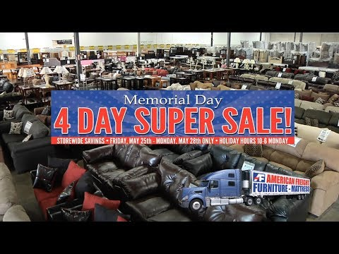 Memorial Day   Four Day Super Sale! | American Freight Furniture And  Mattress