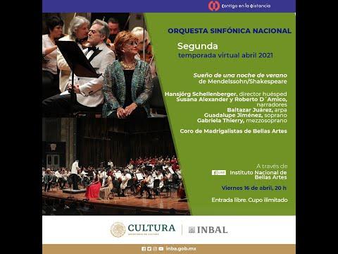Sueño de una noche de verano / Orquesta Sinfónica Nacional / INBAL / México