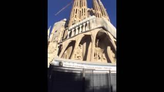 スペインのガウディの傑作「サグラダ・ファミリア」大聖堂♪ パート1 三木 花恋 C CHANNEL