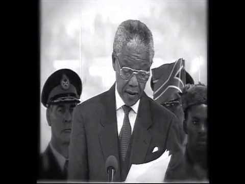 Nelson Mandela Quote: Never again