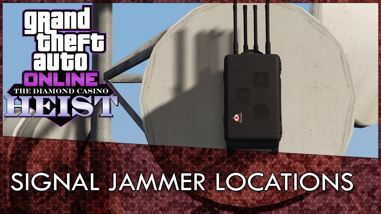 Gta Online All Signal Jammer Locations Guide How To Unlock