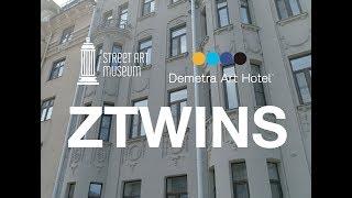 ZTwins x Demetra Art Hotel   Street Art Museum