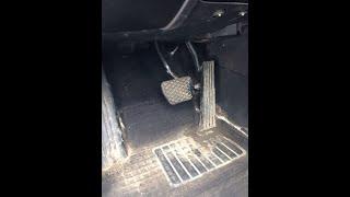как снять механическую педаль газа BMW е39 е38 е34