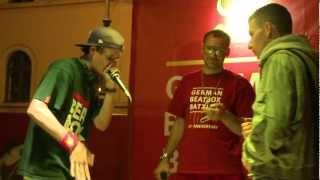 Vega vs Phil Harmony - Final - German Beatbox Battle Tour - Munich