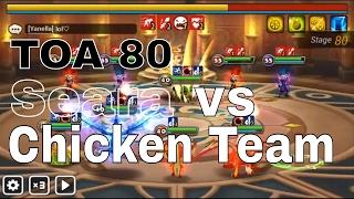 toa 80 bird team vs wind oracle seara stage summoners war