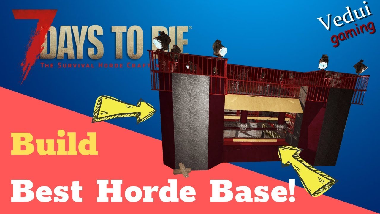 Best Horde Server 2020 7 Days to Die | BUILD the Best Horde Base Ever! | Alpha Gameplay