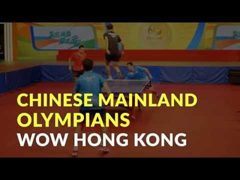 Mainland Chinese Olympians wow Hong Kong