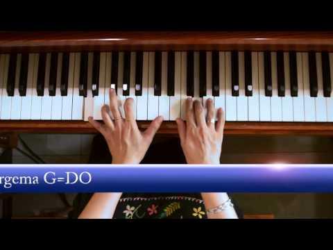 Gita Sorga Bergema G=Do(Piano)