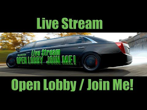 "Forza Horizon 4 #Live  ""Online Adventure"" Open Lobby / Live Stream HD thumbnail"