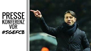 PK vor SGE - FCB | Niko Kovac über Bayern und Prince Boateng