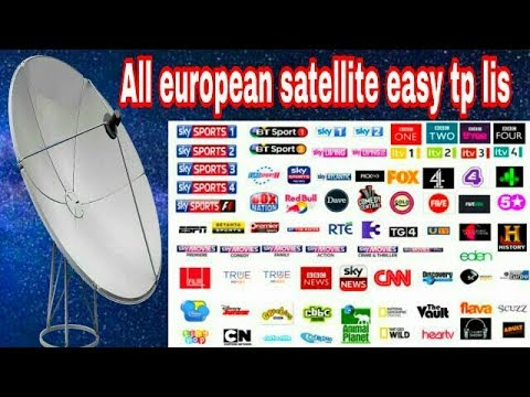 All european satellite easy tp and dish setting with mobile.