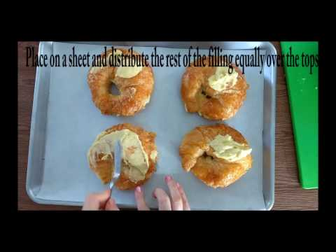 Delicious Breakfast or Brunch Croissants
