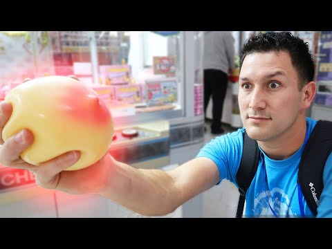These are some Weird Japanese Arcade Prizes!