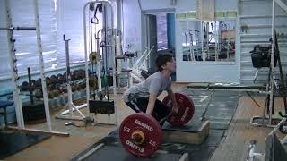 Савкин Виктор, 12 лет, вк 50 Рывок с плинтов  19 кг Личный рекорд! Новичок
