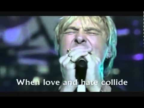 Def Leppard - When Love and Hate Collide (live with lyrics)