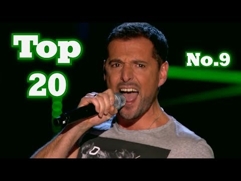 The Voice - My Top 20 Blind Auditions Around The World (No.9)