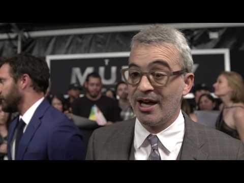 The Mummy: Alex Kurtzman, Director, Red Carpet Premiere Movie Interview