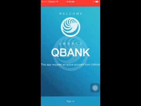Download Usmleworld (Uworld) Qbank To Your IPhone & Android