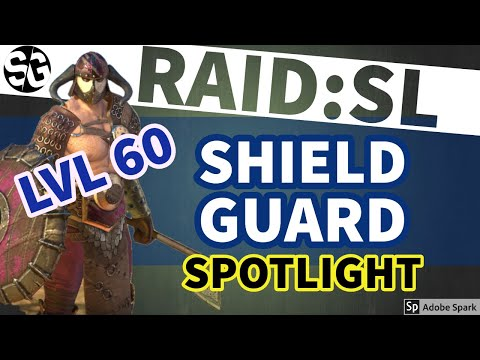 [RAID SHADOW LEGENDS] SHIELDGUARD LEVEL 60 - SONIC BOOM