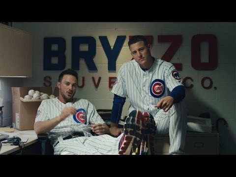 Bryant and Rizzo go into the souvenir business #THIS
