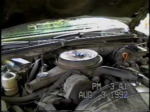 1984 Buick 38 V6 Idling & Start  YouTube