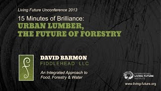 15 Minutes Of Brilliance:  Urban Lumber, The Future Of Forestry