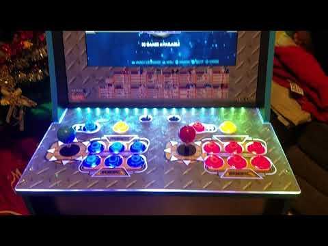 Marvel vs Capcom Arcade1up mod from Retro Arcade Corner