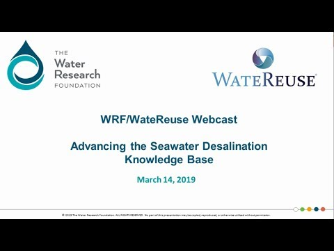 Advancing The Seawater Desalination Knowledge Base