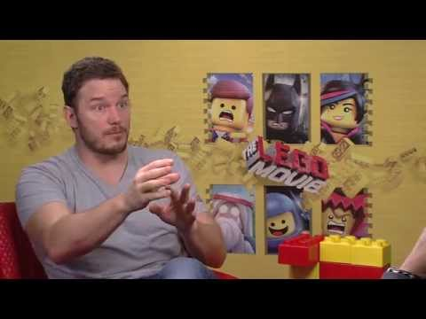 The Lego Movie: Chris Pratt Exclusive Interview
