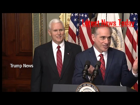 Vice President Pence participates in the swearing in of Small Business Administrator Linda McMahon