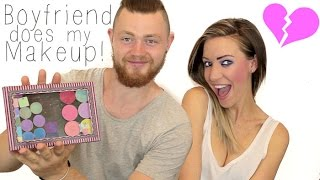 My Boyfriend Does My Makeup | Stephanie Lange