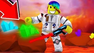 I Got The STRONGEST GEAR And Became TOO RICH (Roblox Mining Simulator Mars)
