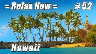 BEST HAWAII BEACHES Kona Coast State Park #52 Beach Ocean Waves HD Beautiful Kekaha Kai Mahaiula