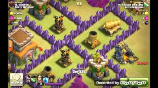Destroy 2 level 6 air defense with 3 lightning