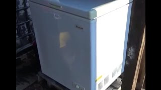 Solar Powered Freezer ~ Hunting ~ Off Grid Construction