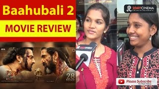 Baahubali 2 - The Conclusion Movie Review | Prabhas | RanaDaggubati - 2DAYCINEMA.COM